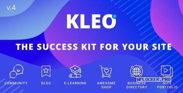 KLEO v5.0.4 – Next level WordPress Theme