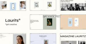 Laurits v1.0 – Portfolio and Agency Theme