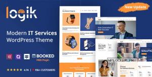 Logik v1.2.0 – Premium IT Solutions and Technology WordPress Theme