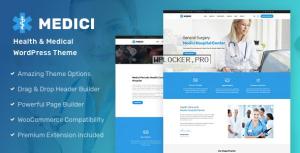 Medici v2.0.1 – Health & Medical WordPress Theme