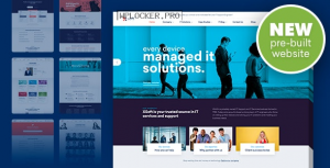 Nanosoft v1.1.15 – WP Theme for IT Solutions and Services Company
