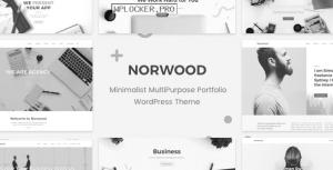 Norwood v1.2.1 – Minimalist MultiPurpose Portfolio WordPress Theme