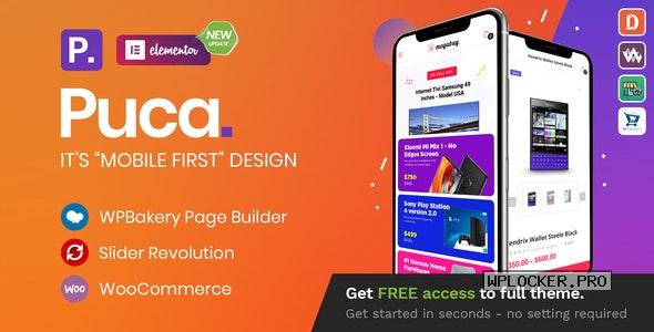 Puca v2.4.6 – Optimized Mobile WooCommerce Theme