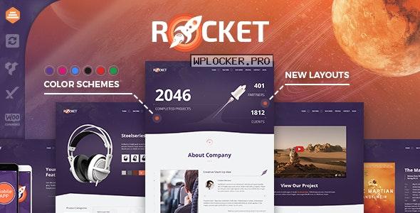 Rocket v2.9.3 – Creative Multipurpose WordPress Theme