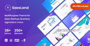 SaasLand v3.3.8 – MultiPurpose Theme for Saas & Startupnulled