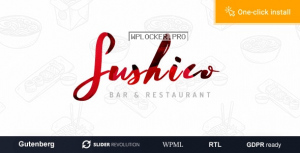 Sushico v1.0.6 – Sushi and Asian Food Restaurant WordPress Theme