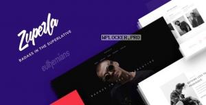 Zuperla v2.3.4 – Creative Multi-Purpose WordPress Theme