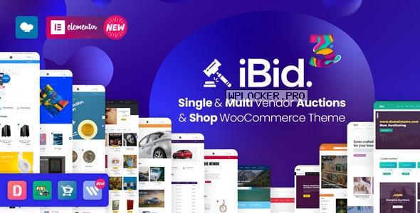 iBid v3.3 – Multi Vendor Auctions WooCommerce Theme