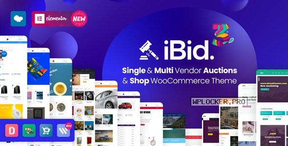 iBid v3.3.1 – Multi Vendor Auctions WooCommerce Theme